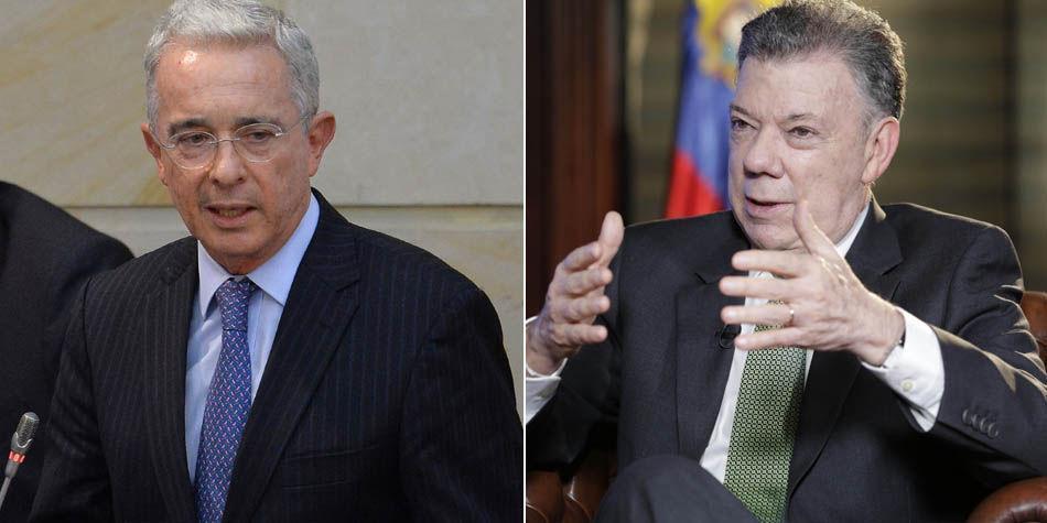 'Hay personas con mejores calidades humanas': Uribe sobre Santos