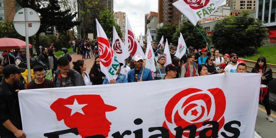 Partido Farc anuncia marcha a Bogotá por muertes de excombatientes