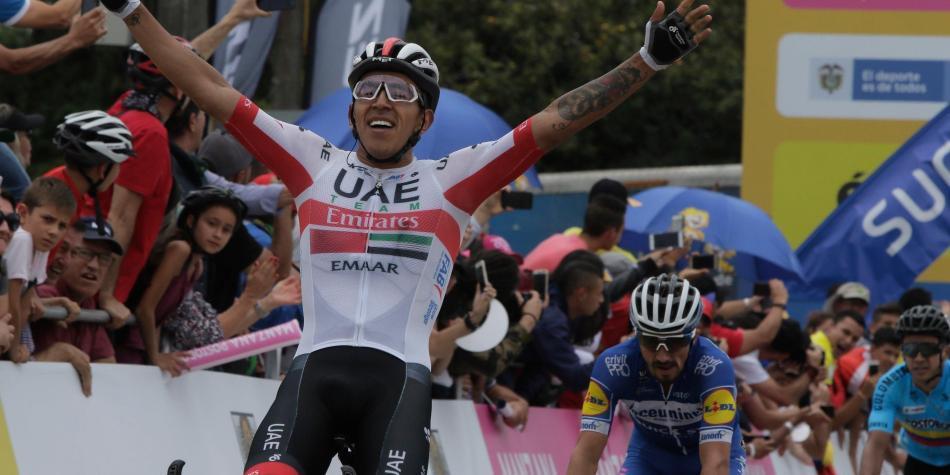 La buena noticia que recibió el ciclista Juan Sebastián Molano