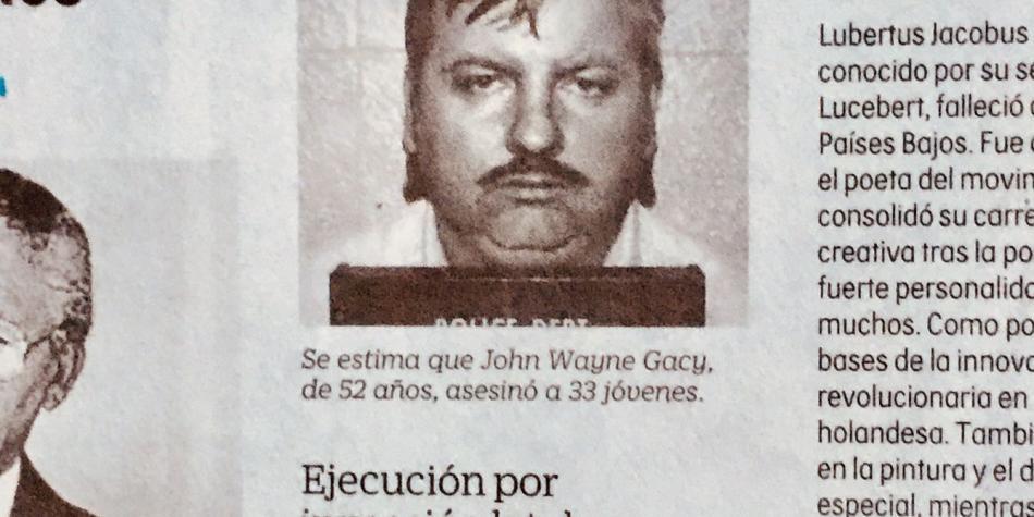 John Wayne Gacy, el payaso asesino de niños y adolescentes