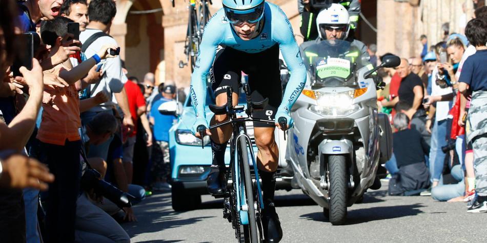 ¡Excelente comienzo de 'Supermán' López en el Giro!