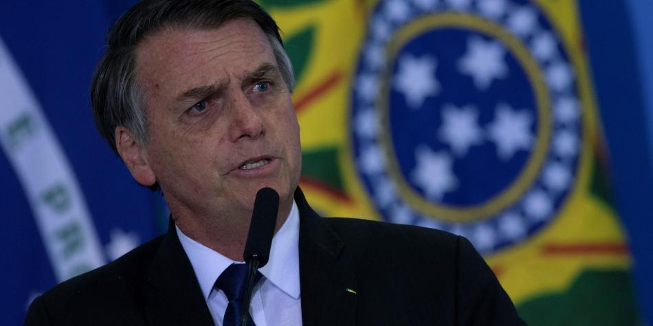 '¿Quieren atacarme? Vengan hacia mí, ¡no me van a agarrar!': Bolsonaro