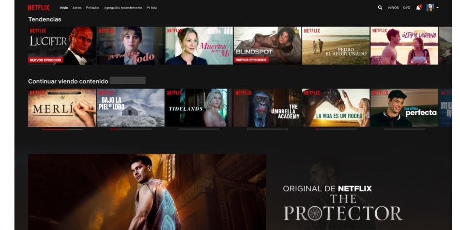 ¿Cómo ocultar una serie de su historial de visualización en Netflix?