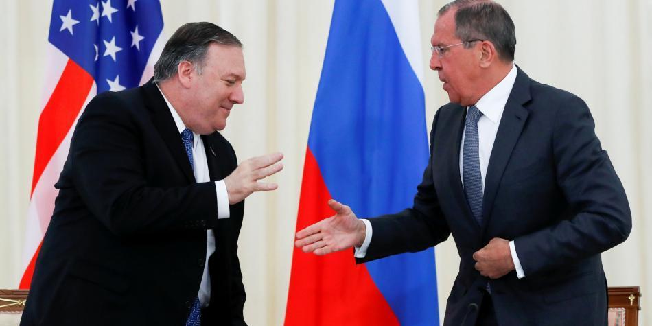 Tras reunirse en Rusia, Pompeo y Lavrov no lograron bajar la tensión