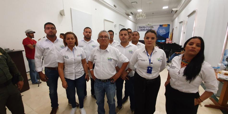 10 funcionarios de Alcaldía de Santa Marta, en huelga de hambre