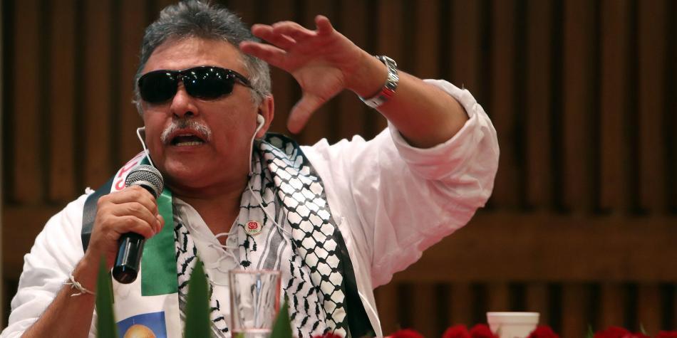 Resultado de imagem para La justicia especial para la paz en Colombia libera al ex guerrillero Jesús Santric. El presidente Duque reacciona, el fiscal general renuncia