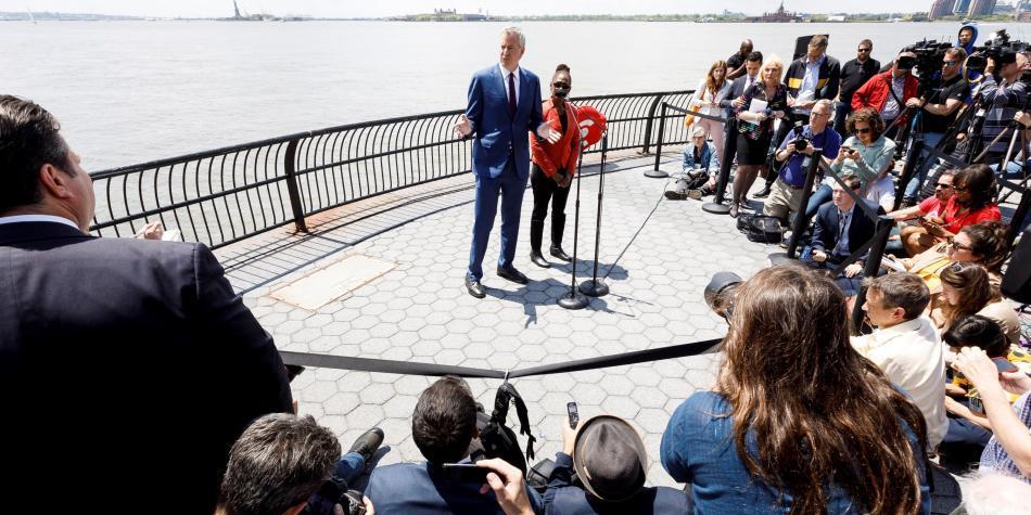 El alcalde de Nueva York lanzó se campaña en busca de la presidencia