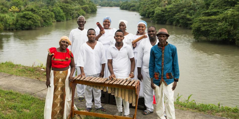 Los Balanta dominan los espíritus del río y el bosque