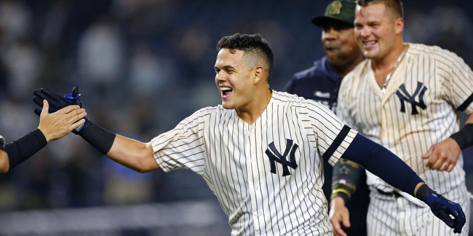 Gio Urshela les dio el triunfo y el liderato a los Yankees