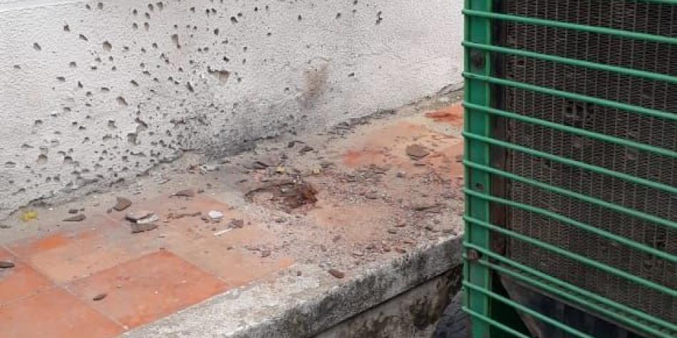 Granada deja siete heridos en Teorama, Norte de Santander