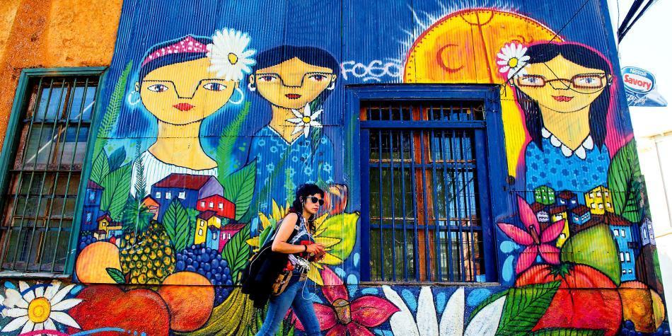Valparaíso, el puerto que se volvió un gran mural