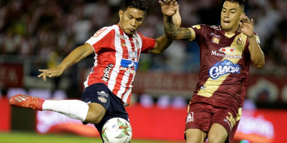 Yeison Gordillo sufrió una grave lesión con el Tolima
