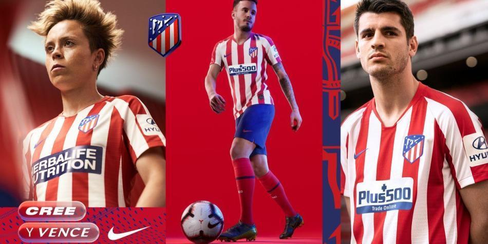 Esta es la nueva camiseta del Atlético de Madrid