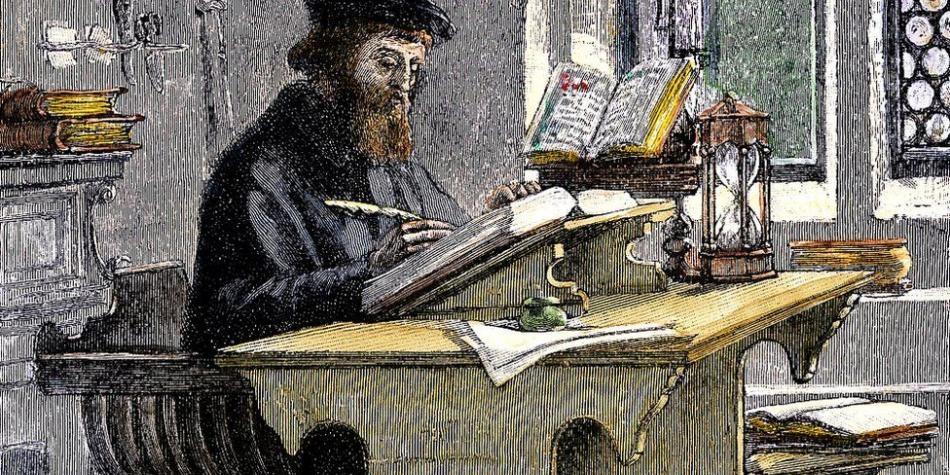 BBC Mundo: John Wycliffe traduciendo
