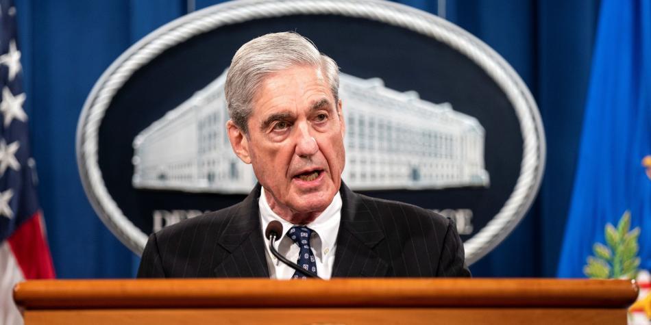 Robert Mueller fiscal especial del caso de Trama Rusa