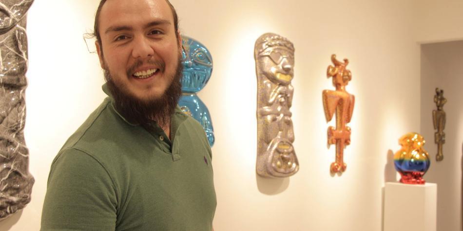 Exposición convierte piezas precolombinas en esculturas a la moda