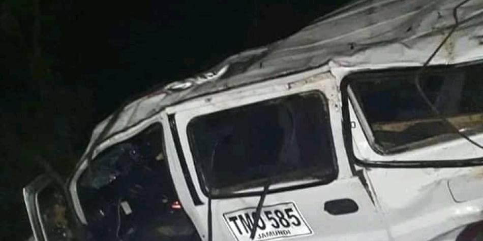 Siniestro vial en Cauca deja tres artistas muertos y ocho más heridos