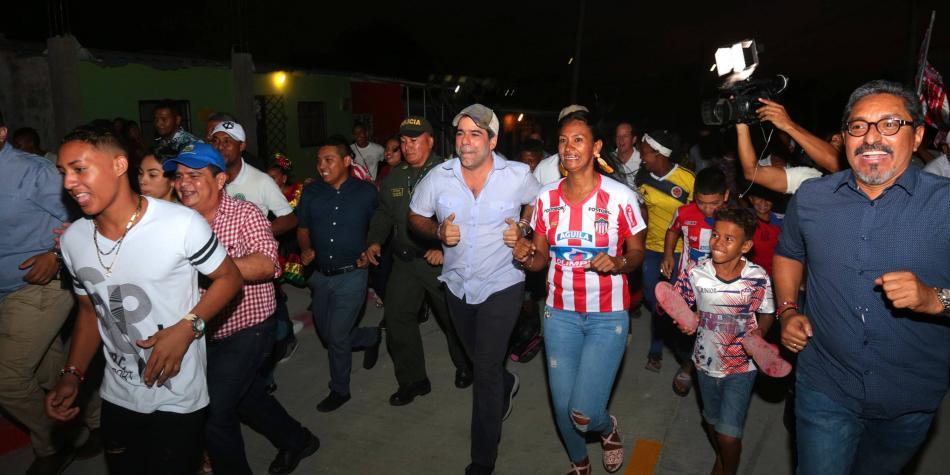 El insólito apoyo del alcalde de Barranquilla a barra brava del Junior