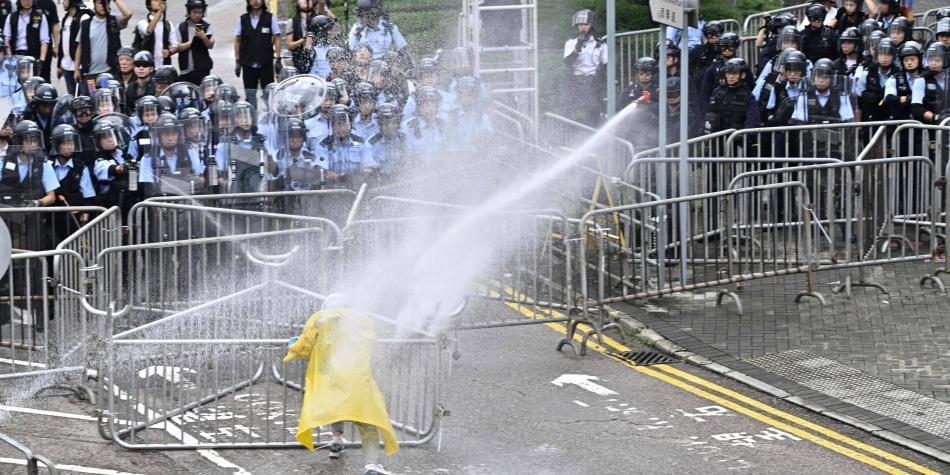 Frente a protestas en Hong Kong, el gobierno chino actúa con cautela