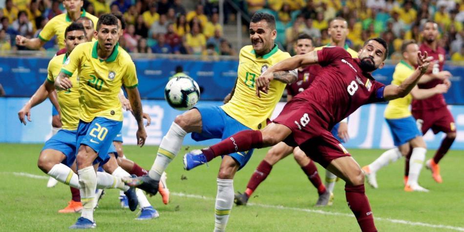 En vivo: Brasil empata 0-0 con Venezuela y aplaza su clasificación