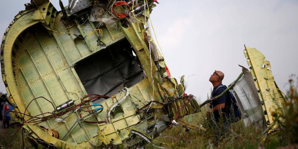 Acusan a cuatro sospechosos por derribar el avión de Malaysia Airlines