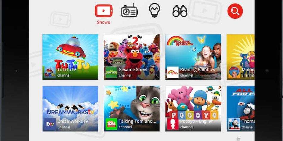 YouTube planea trasladar videos para niños a un portal independiente