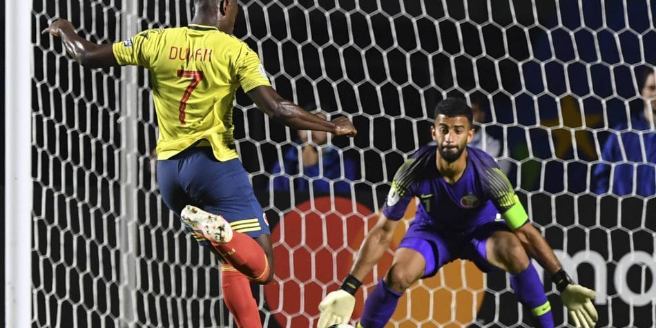 La increíble jugada de Duván que no finalizó en gol para Colombia