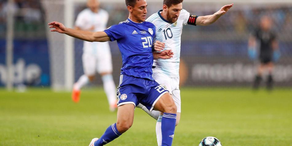 En vivo: Paraguay le gana 1-0 a Argentina siga en directo el partido