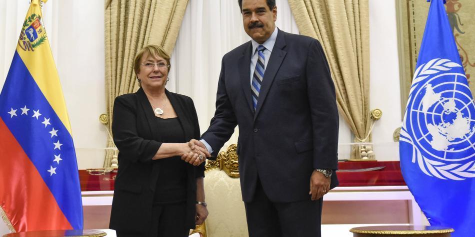 Seis militares desaparecen en Venezuela al final de visita de Bachelet