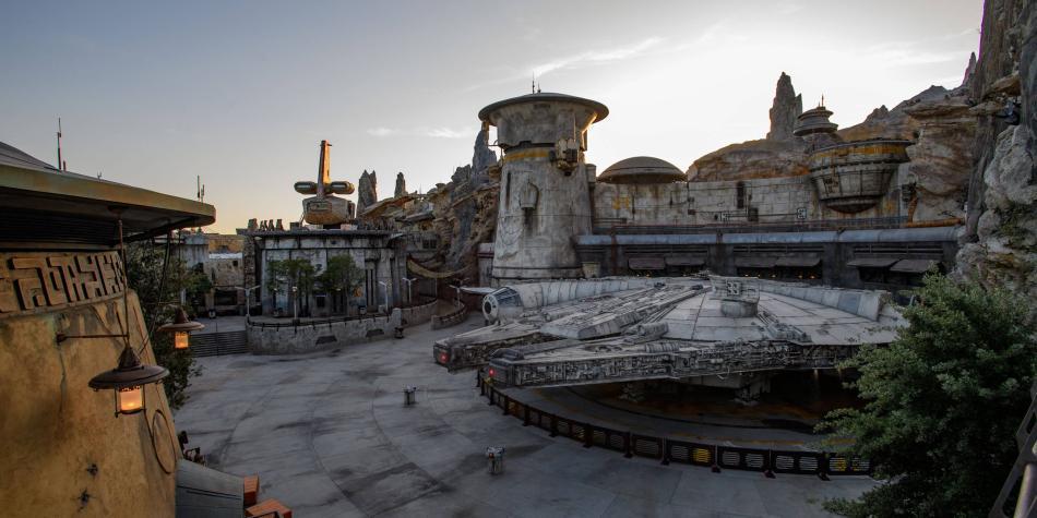 Aterrizamos en el nuevo parque de 'Guerra de las galaxias' de Disney