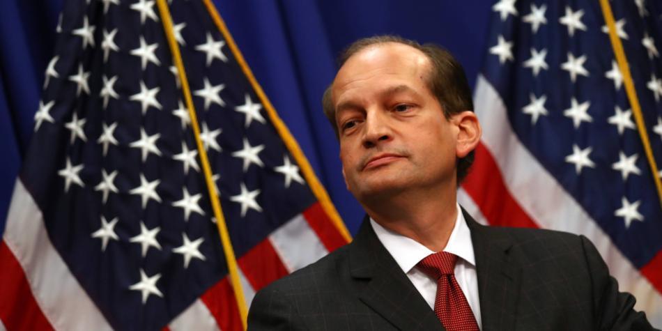 EE.UU: renuncia Secretario de Trabajo tras escándalo que lo vincula a Epstein
