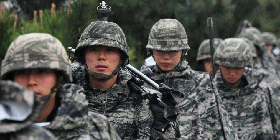 Militares gais sufren acoso y abuso sexual en Corea del Sur, según AI