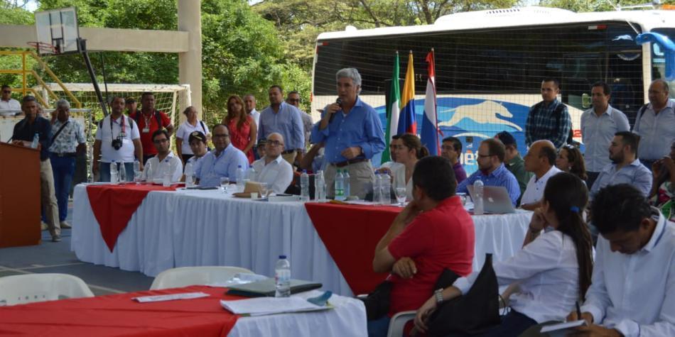 Así quedaron los acuerdos en la reunión de ministro en La Guajira