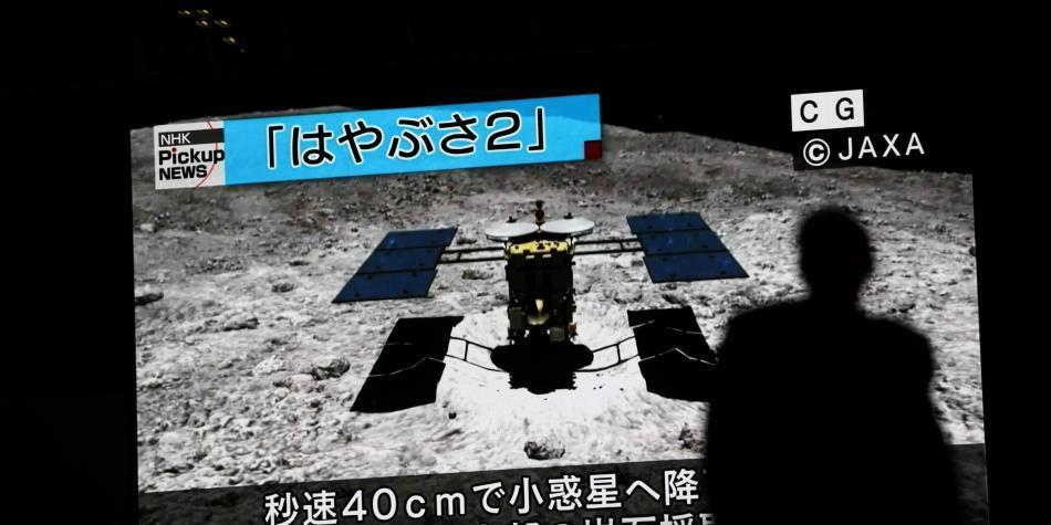 La sonda Hayabusa2 logra posarse por segunda vez en un asteroide