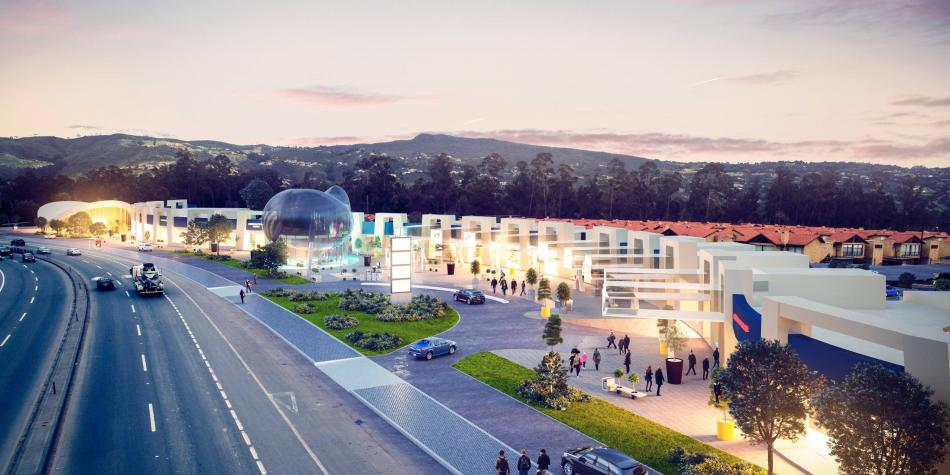 Así será el nuevo mall en la variante Chía-Cajicá