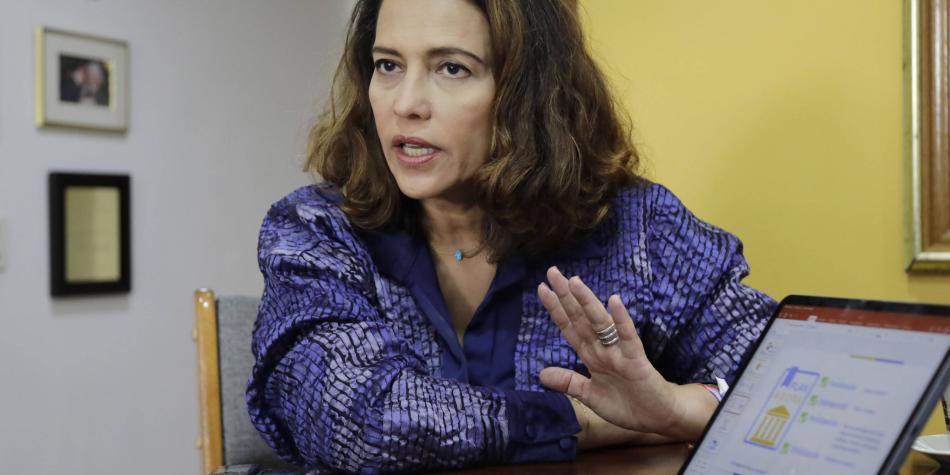 Nancy Patricia Gutiérrez y sus polémicas en el ministerio del Interior