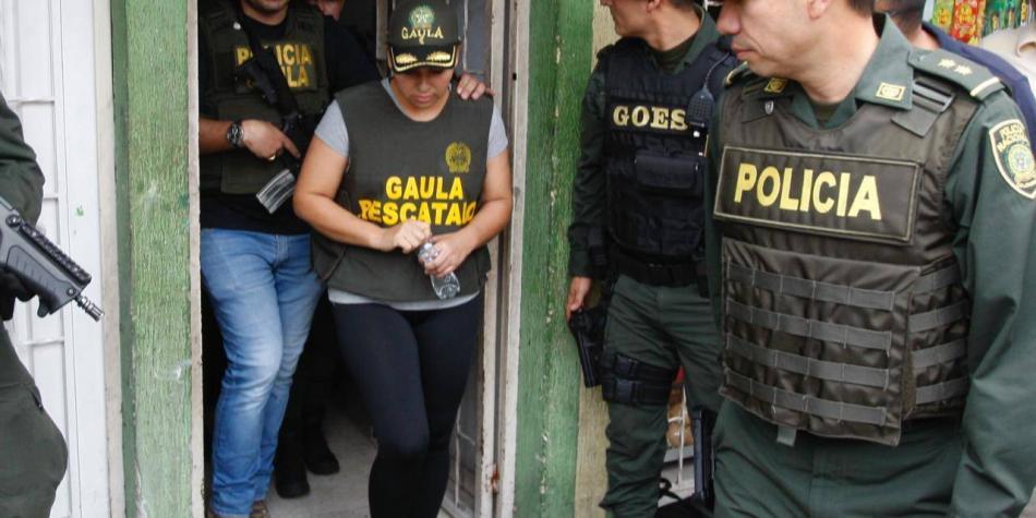 Rescatan a mujer que estaba secuestrada desde mayo en Santander