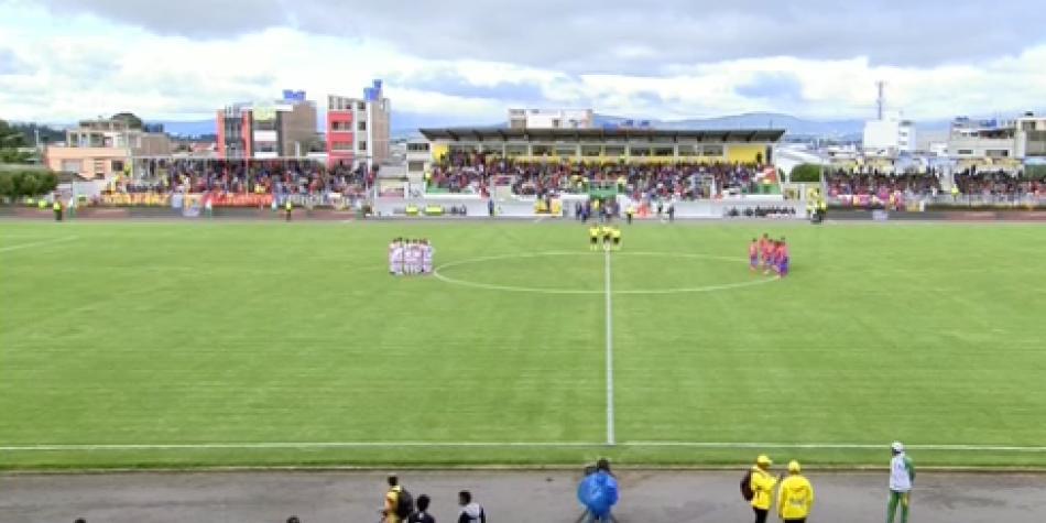 El Santa Fe de Camps se estrenó con un empate contra Deportivo Pasto