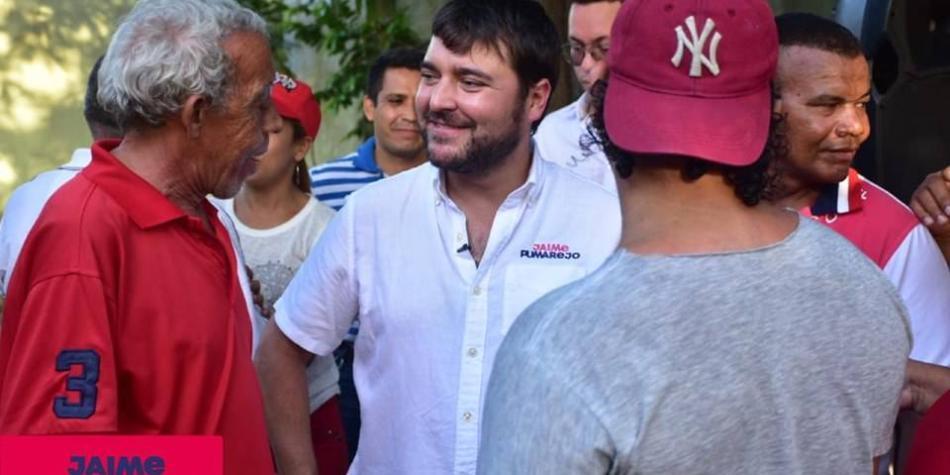Jaime Pumarejo inscribe candidatura a la alcaldía de Barranquilla
