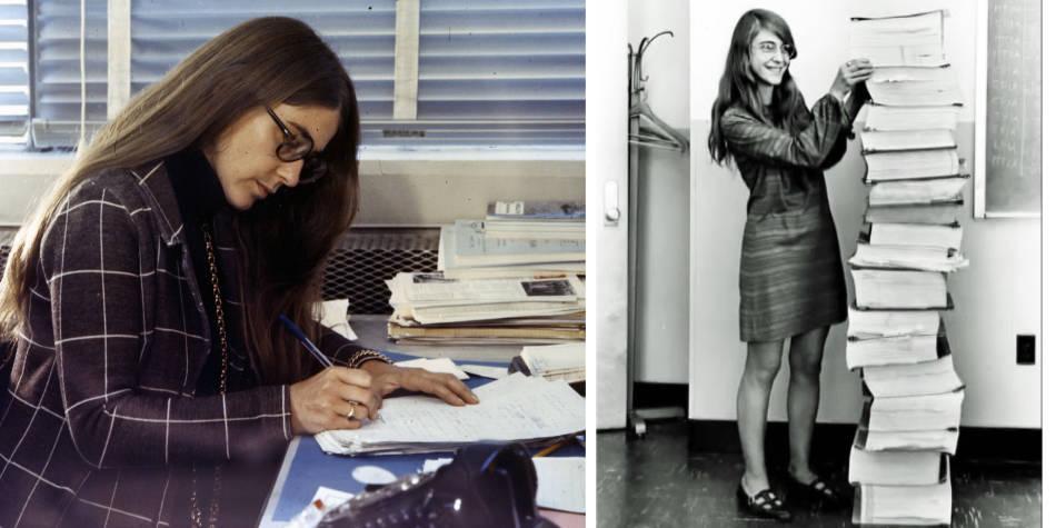 La mujer que escribió el código para lograr la misión Apolo 11