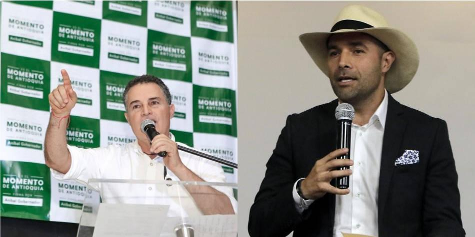Los votos de 'la U' en Antioquia, entre Aníbal Gaviria y Andrés Guerra