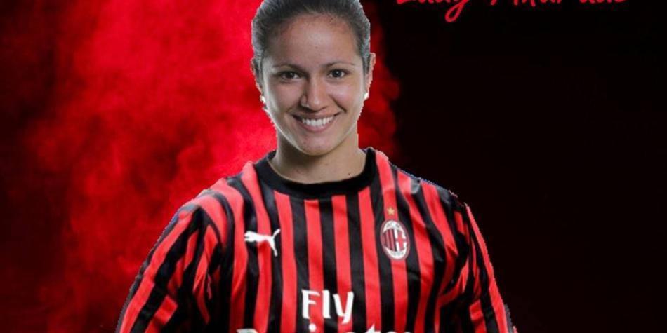 Lady Andrade es el nuevo refuerzo del AC Milan femenino