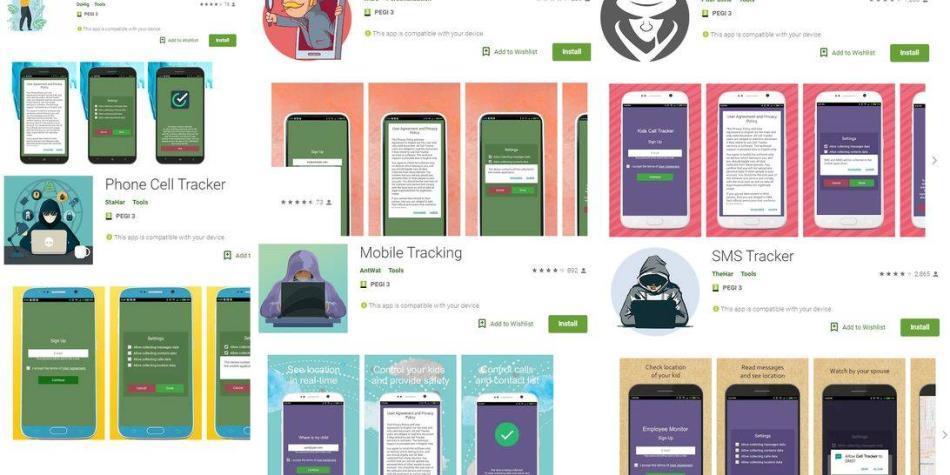 Google eliminó 'apps' de su tienda usadas para espiar