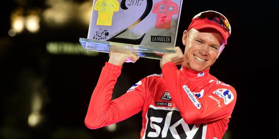 Así ganó Froome en el escritorio la Vuelta a España del 2011