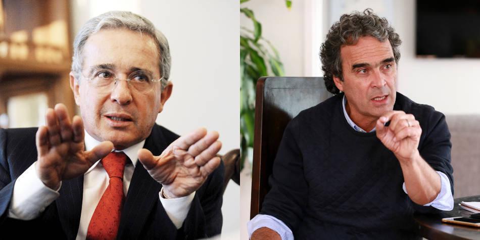 'Ni con A, ni con B': la crítica de Álvaro Uribe a Sergio Fajardo