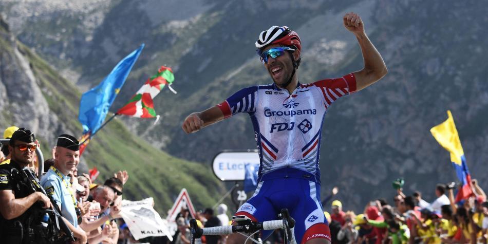 El técnico de Pinot, ganador en el Tour, al borde del infarto