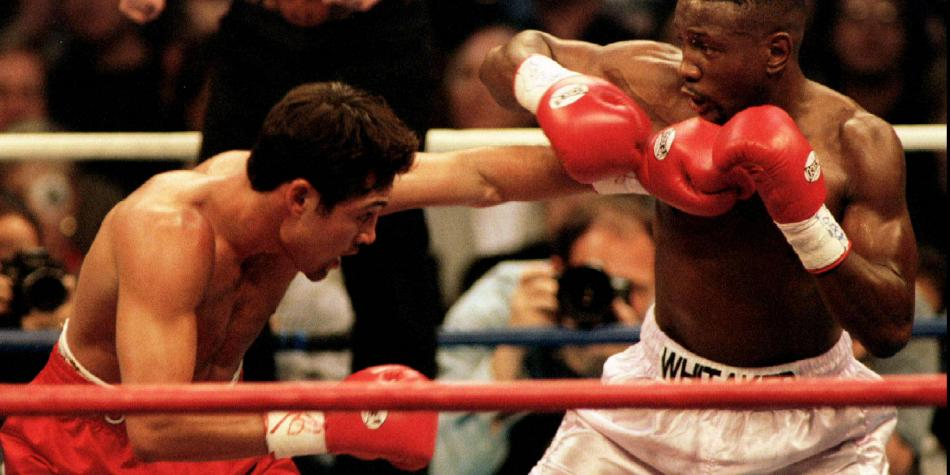 El adiós a Pernell Whitaker, un maestro de la defensa en boxeo