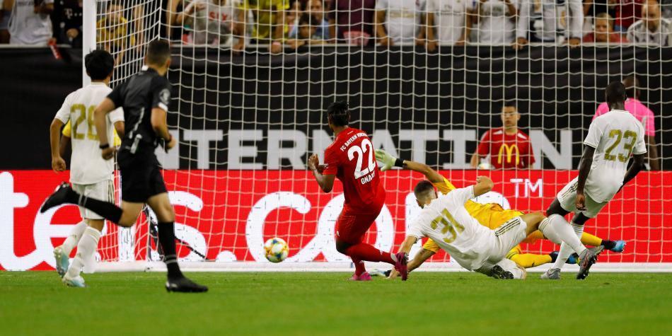 Exhibición y goleada del Bayern contra un desconocido Real Madrid