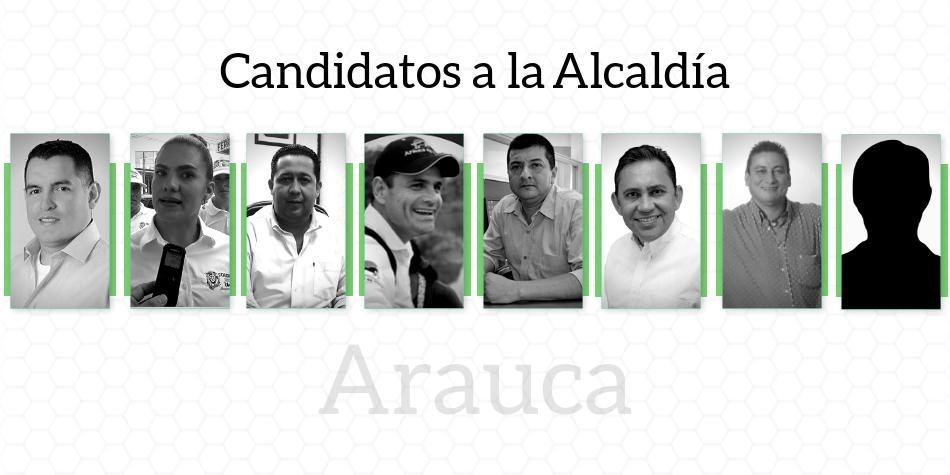 Candidatos a Alcaldía de Arauca