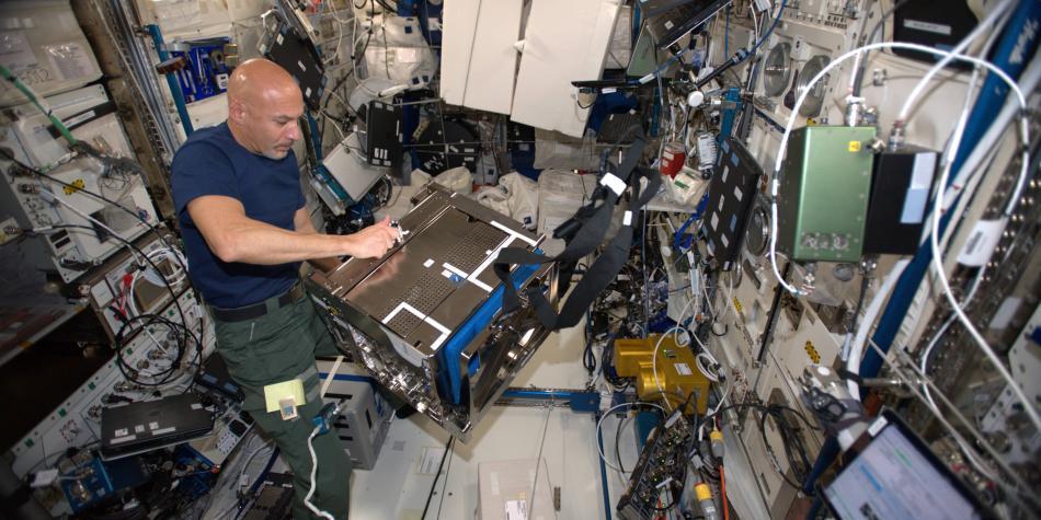 Astronauta italiano se convertirá en el primer 'DJ' espacial
